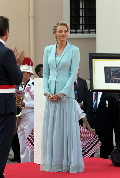 Charlène monacói hercegné