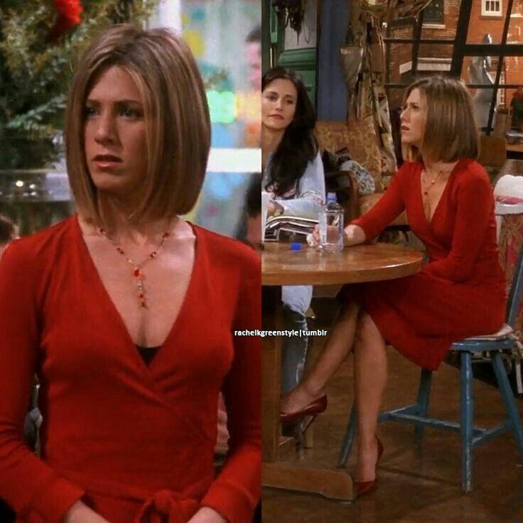 A vörös pedig mindig dögös, és Rachel is imádta.