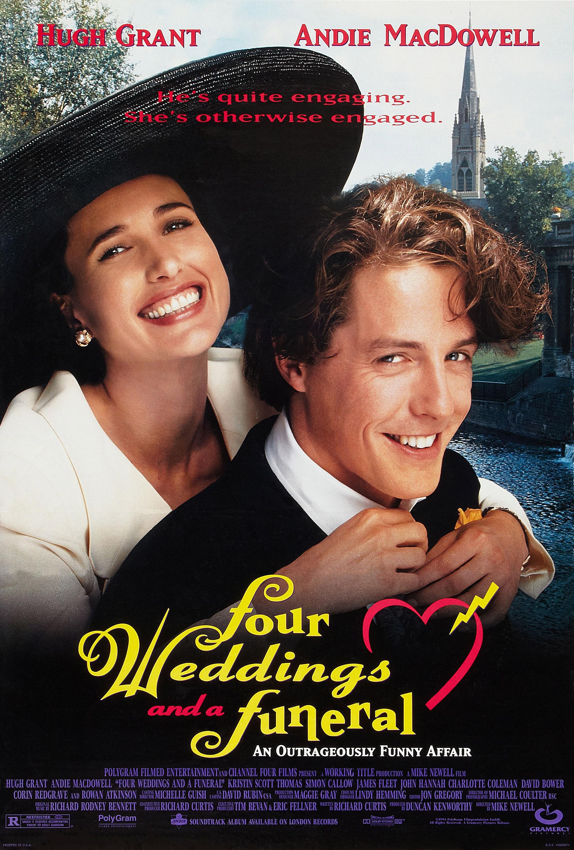 4 esküvő és egy temetés (1994)
