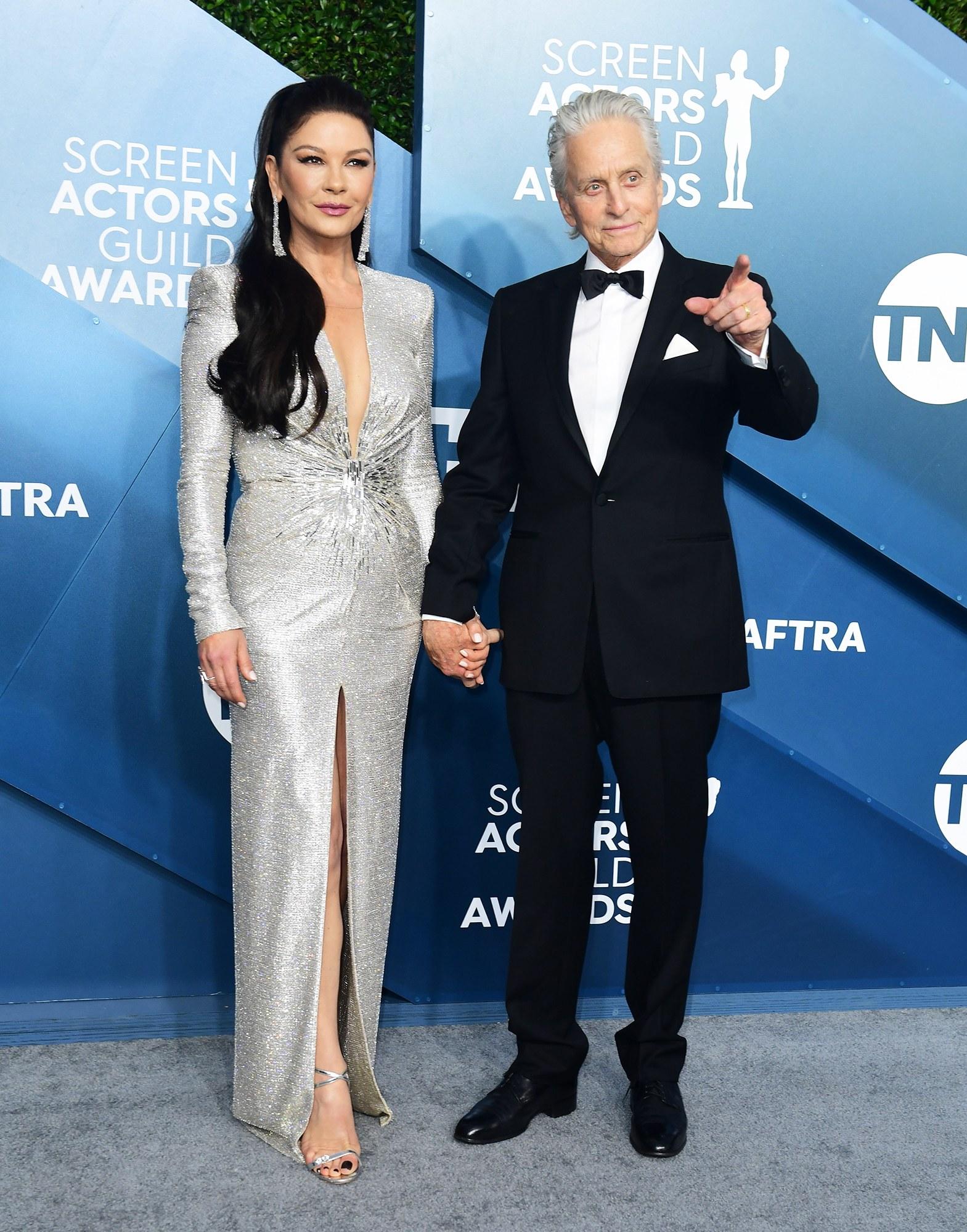 Catherine Zeta-Jones és Michael Douglas
