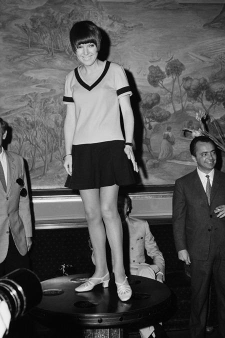 Mary Quant, a miniszoknyák anyja büszke volt arra, hogy a vásárlói bevállalták az egyre rövidülő szegélyeket