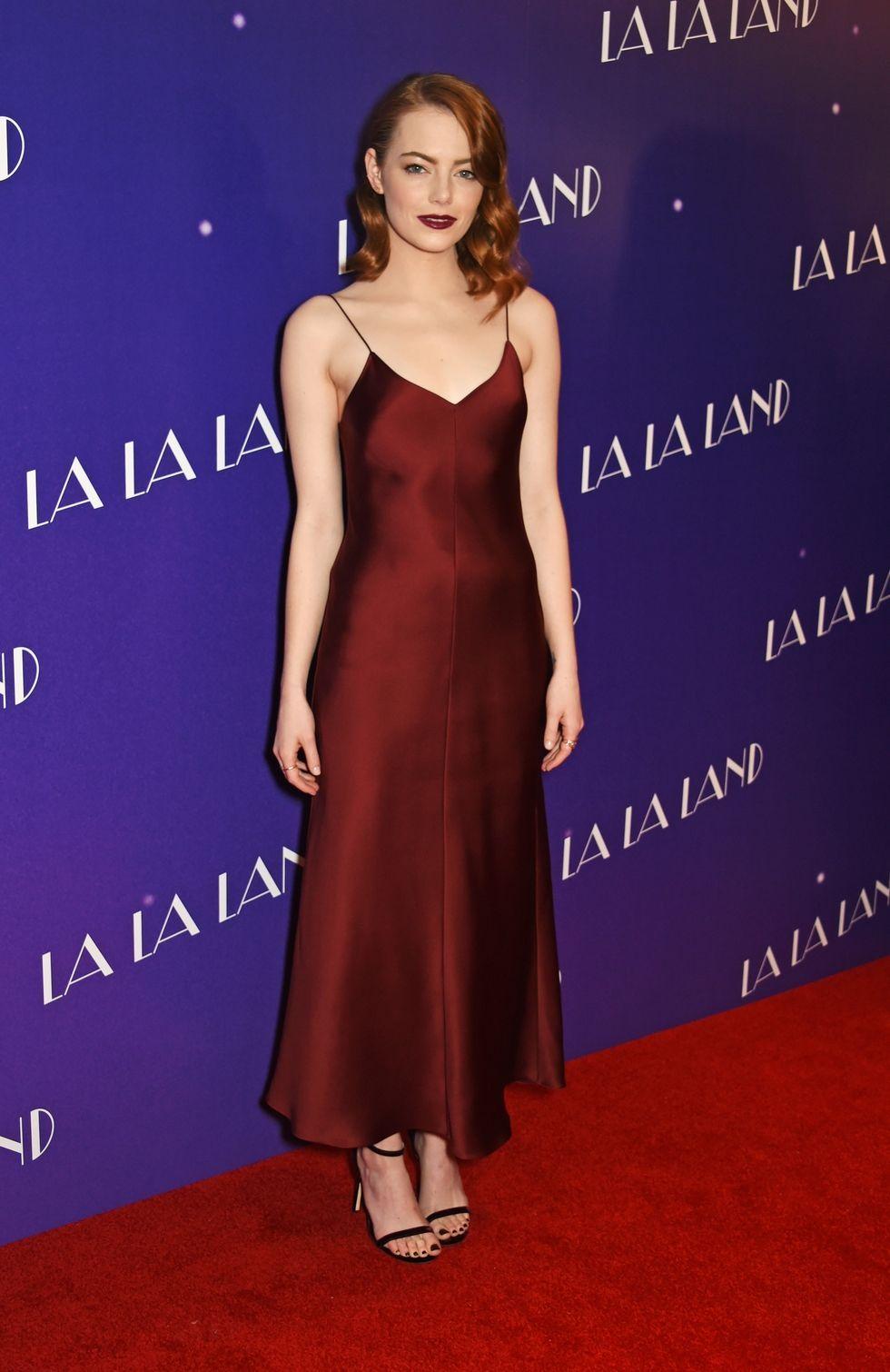 Emma Stone a vörös szőnyegen