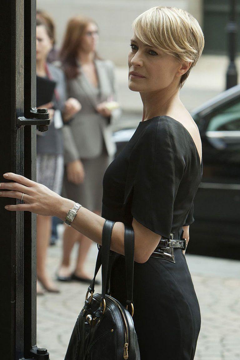 A kártyavár főhősnője, Claire Underwood mindig kifogástalanul öltözött
