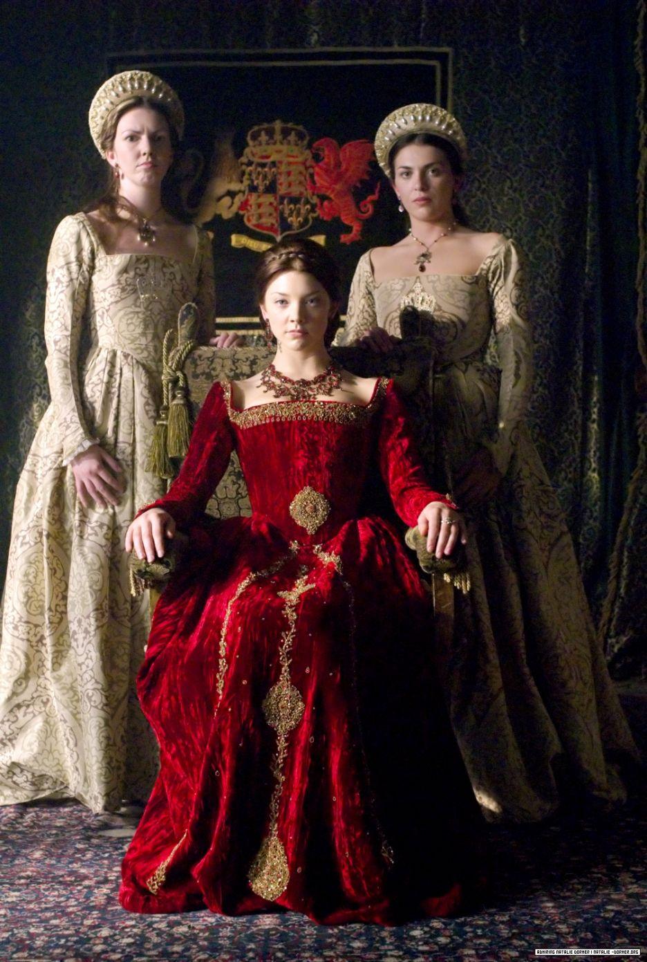Tudorok - Számomra hatalmas kedvenc, a ruhák miatt is
