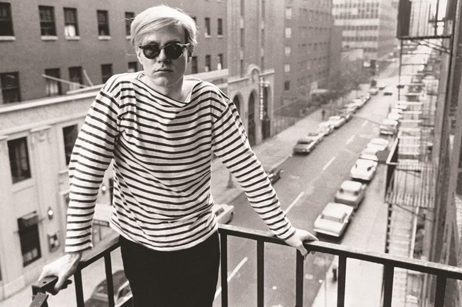 Andy Warhol, a pop-art művész Manhattanben
