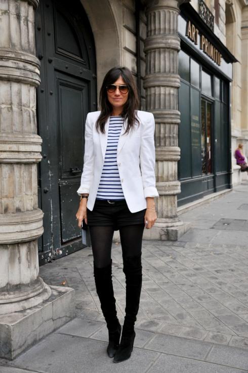 Emmanuelle Alt, a francia Vogue főszerkesztője