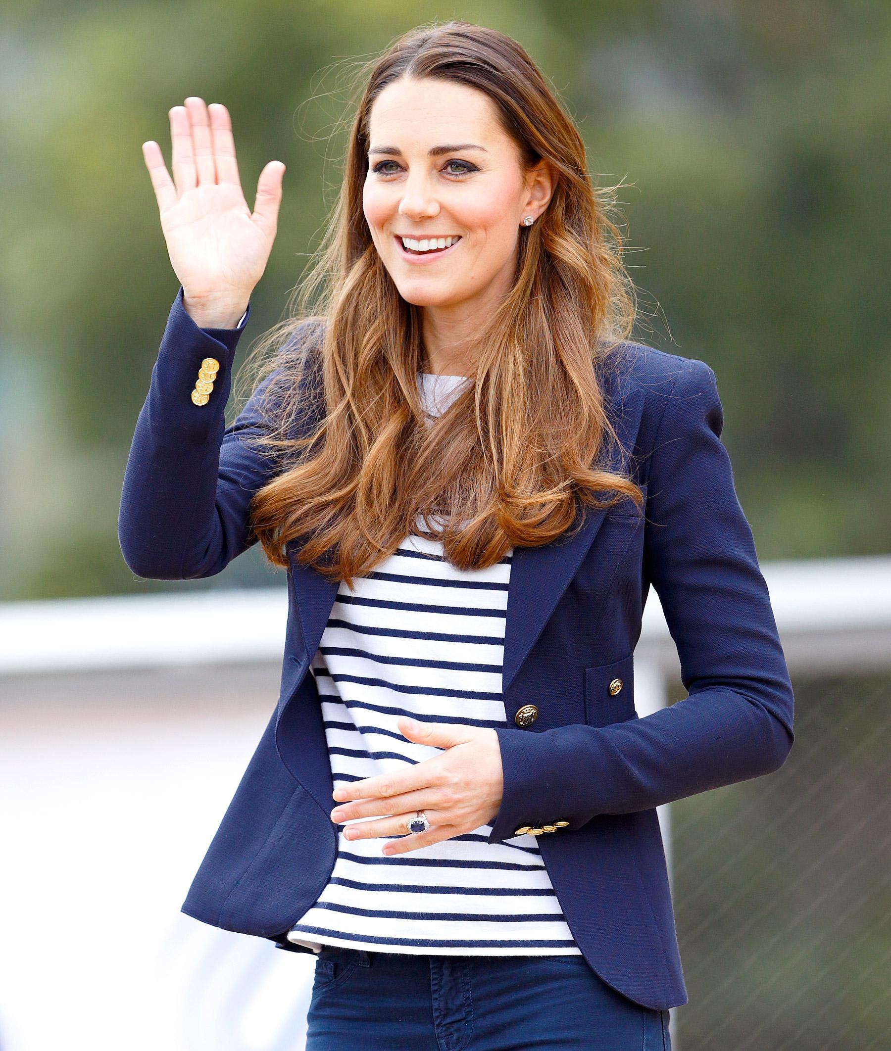 Katalin hercegné 2013-ban, Londonban
