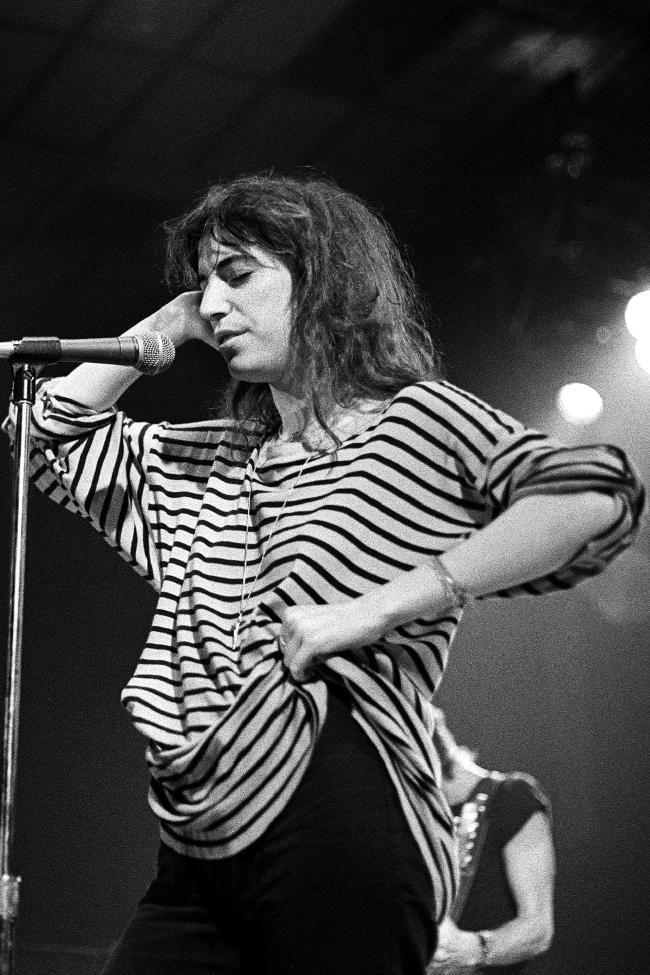 Patti Smith énekesnő 1979-ben