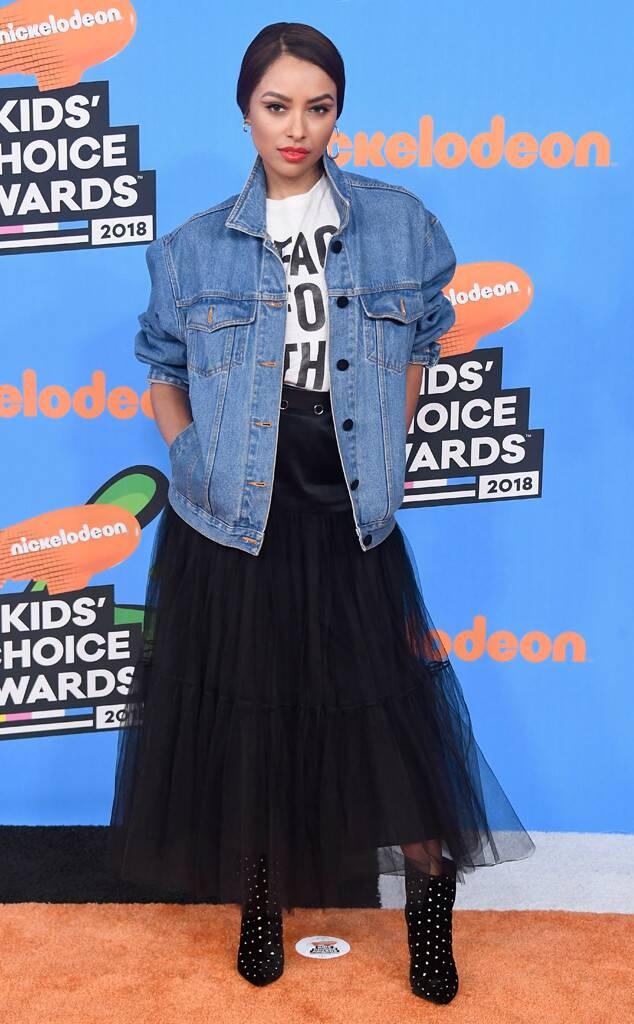 Kat Graham - Nickelodeon's 2018 Kids' Choice Awards