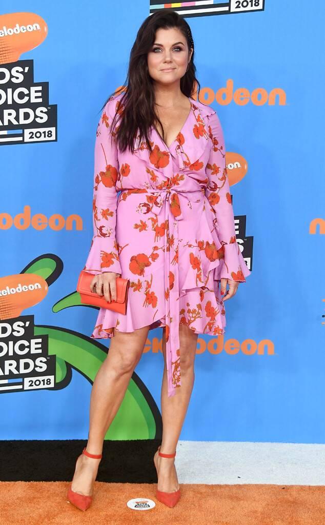 Tiffani Thiessen (Cynthia Rowley) - Kids' Coice Awards 2018