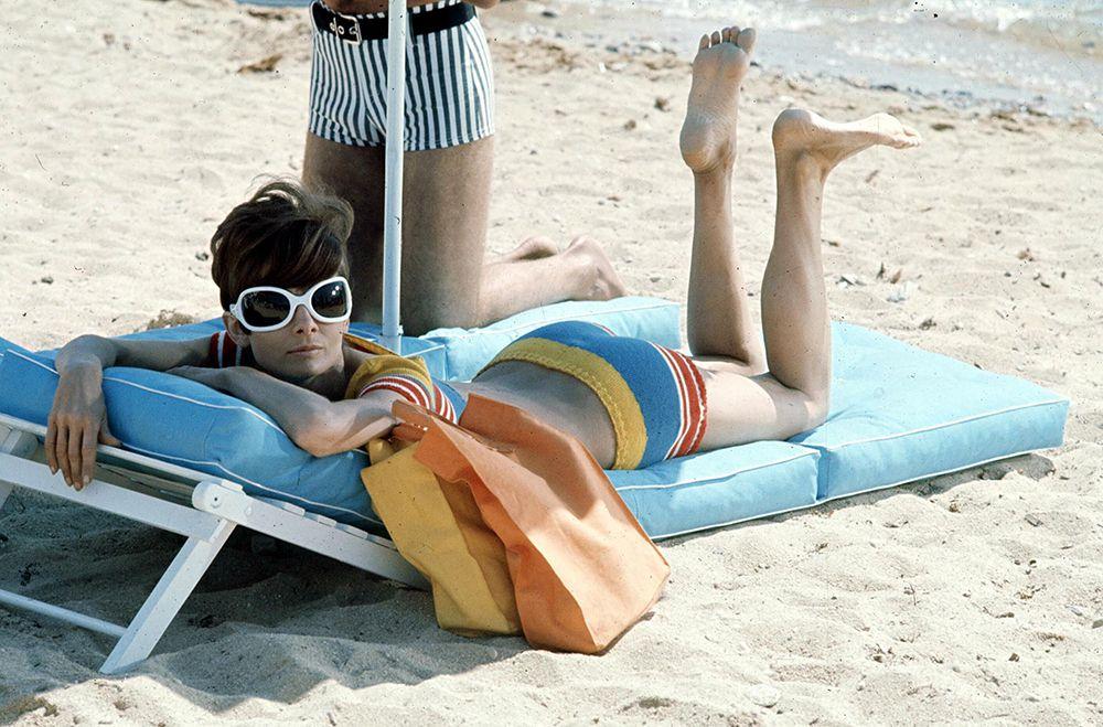 Audrey Hepburn nyaralgat 1966-ban