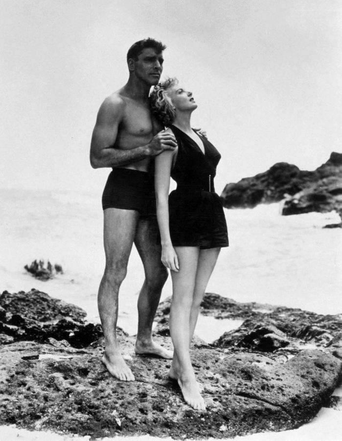 Deborah Kerr és Burt Lancester a Most és mindörökké c. filmben