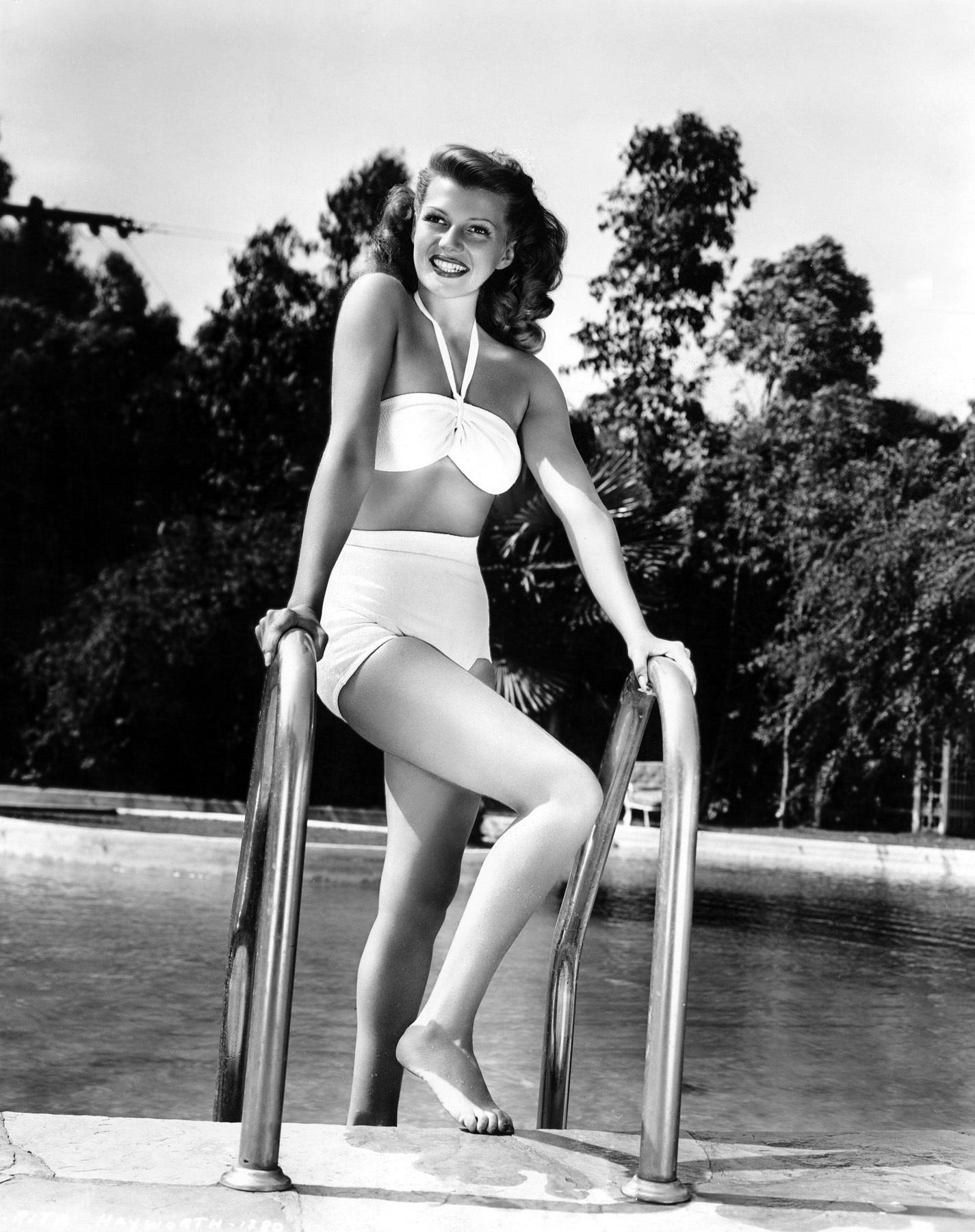 Rita Hayworth színésznő 1946-ban