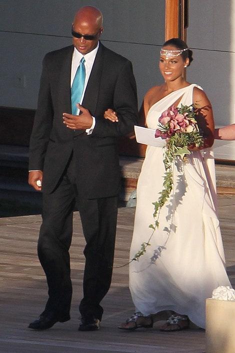 Alicia Keys és Swizz Beatz esküvője 2010-ben