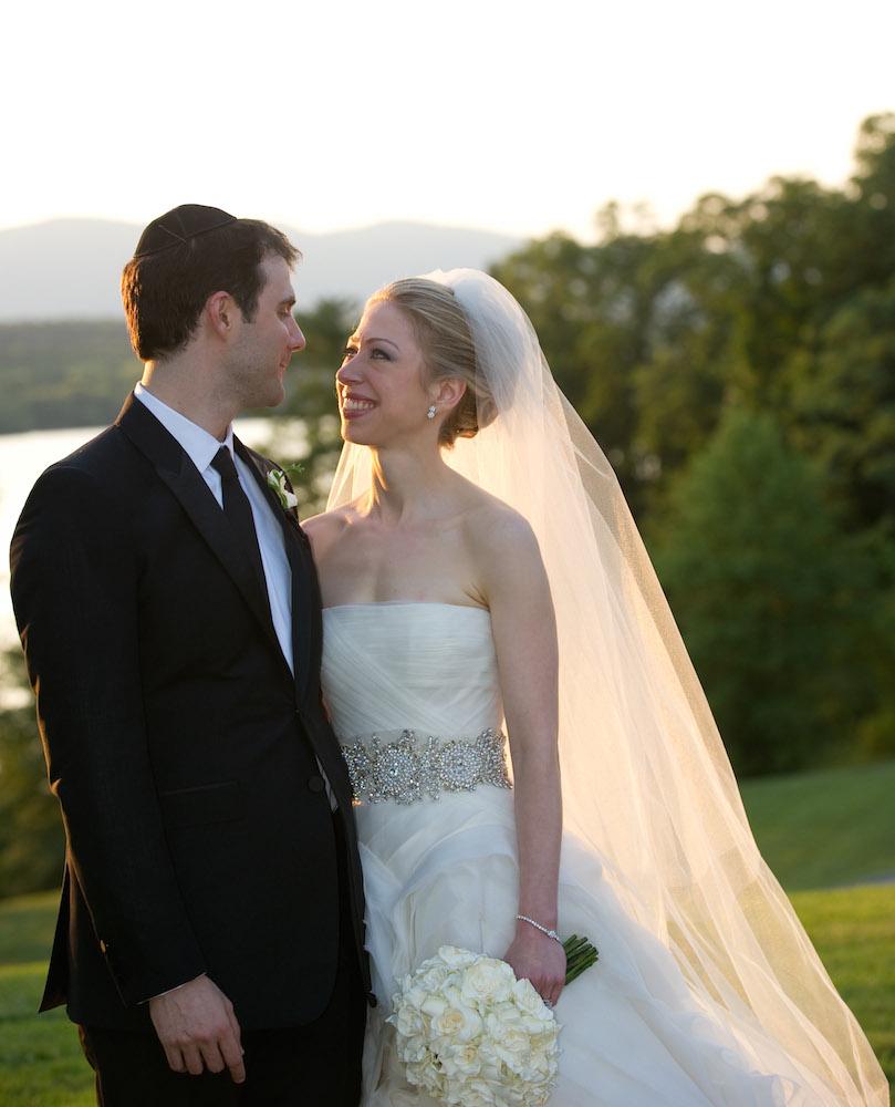 Chelsea Clinton és Marc Mezvinsky 2010-ben mondták ki a boldogító igent