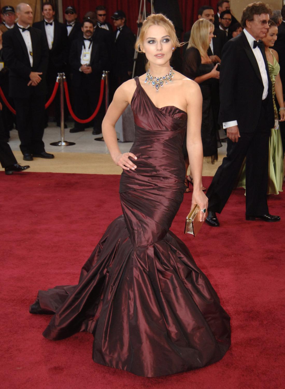 Keira Knightley az Oscar-gálán