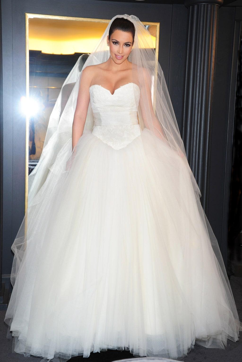 Kim Kardashian 2011-ben - bár Chris Humphrey-vel kötött házassága kérészéletű volt
