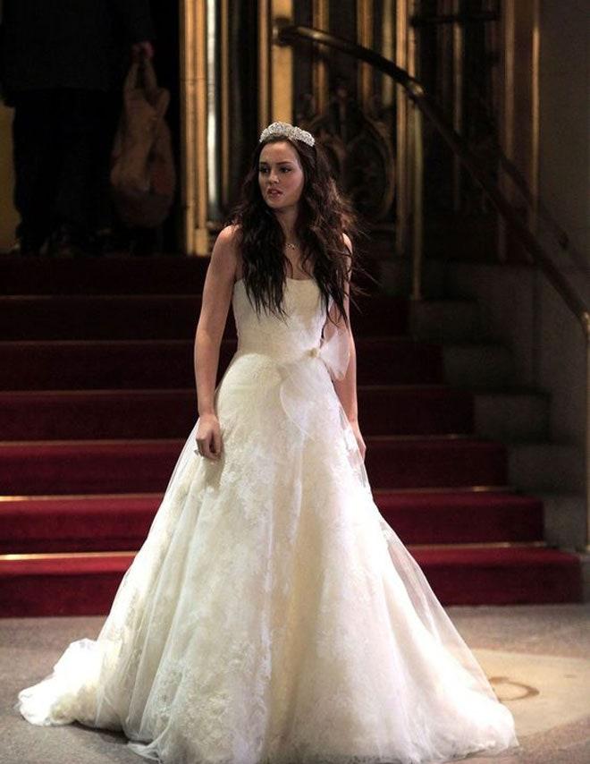 Leighton Meester mint Blair Waldorf a Gossip Girl sorozatban