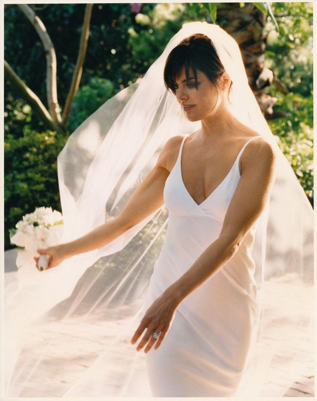Lisa Rinna színésznő (Melrose Place)  ruhája