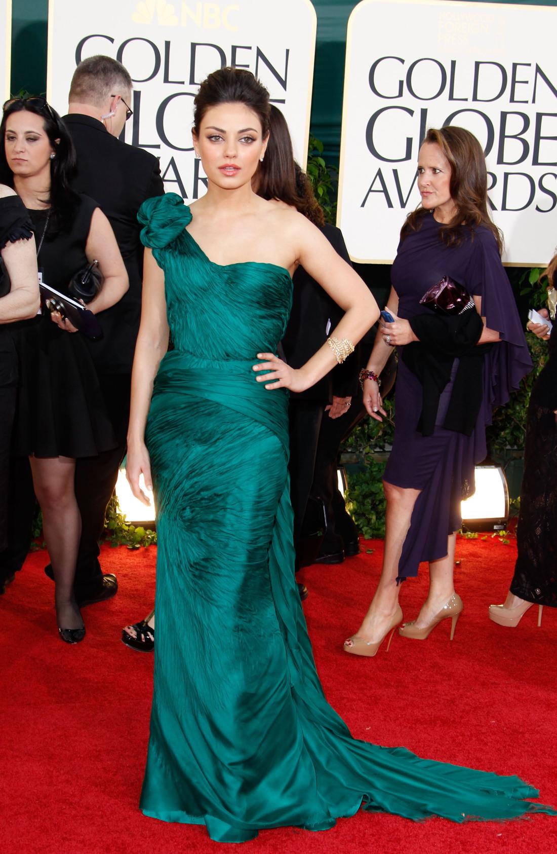Mila Kunis a 68. Golden Globe díjátadón