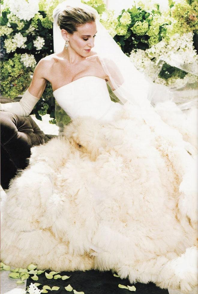 Sarah Jessica Parker mint Carrie Bradshaw