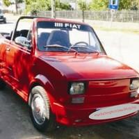 Cabrio, Polski Fiat, reklámfelület