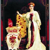 Coca-Cola: 123 éves múlt plakátokon