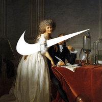 A Nike jele megtámadja a festészet birodalmát