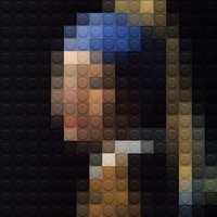 Klasszikus remekművek LEGO elemekből