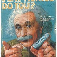 Tegnap a tudományban, ma a reklámokban
