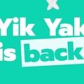 Visszatért a Yik Yak, a helyi közösségi oldal