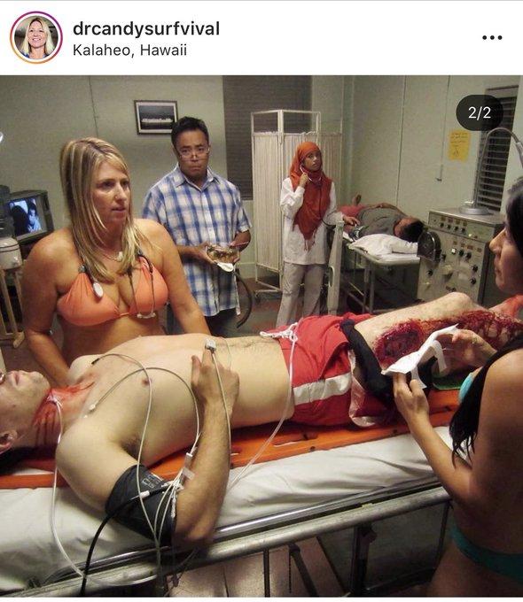 Miért ne posztolhatna egy orvos bikinis képet?