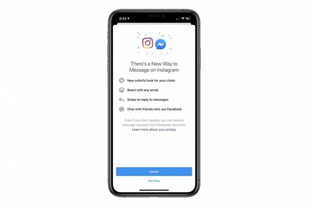 Összeolvad a Messenger és az Instagram