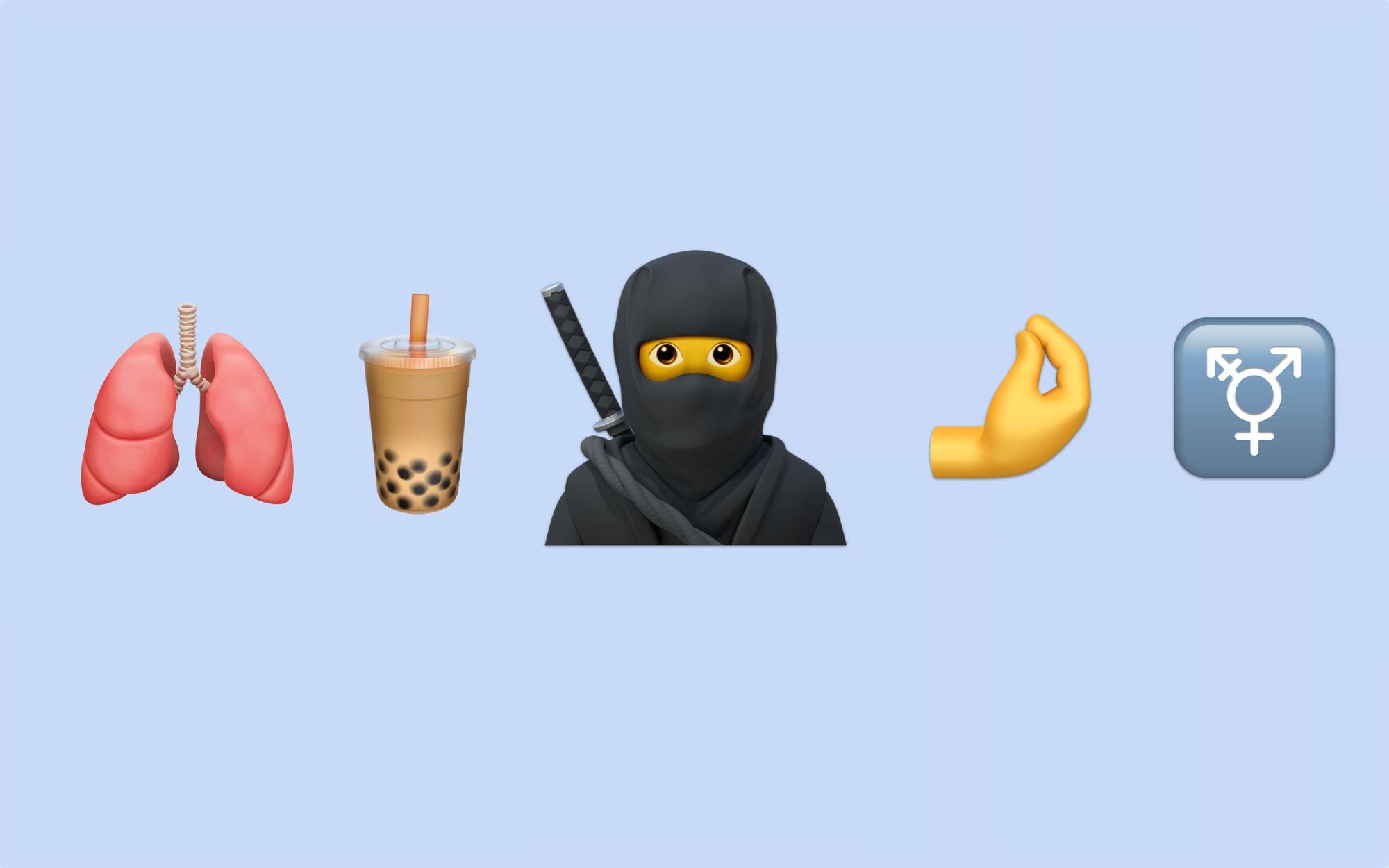 Ezek az új emojik érkeznek 2020-ban