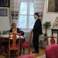 #markizaypeter megbeszélés az alpolgármester asszonnyal.