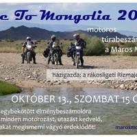 Ride to Mongolia 2012