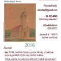 Rákosliget Anno - támogató naptár a 2016. évre