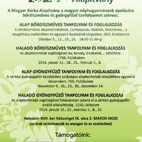 Bőrdíszműves tanfolyam a Magyar Bárkával októberben