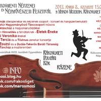 II. Népzenei és Népművészeti Fesztivál Ligeten