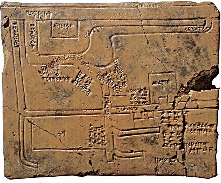 Babilóniai csatornahálózat tervrajza (Kre. e. 1684-1647) (shoyencollection.com) ubaid.jpg