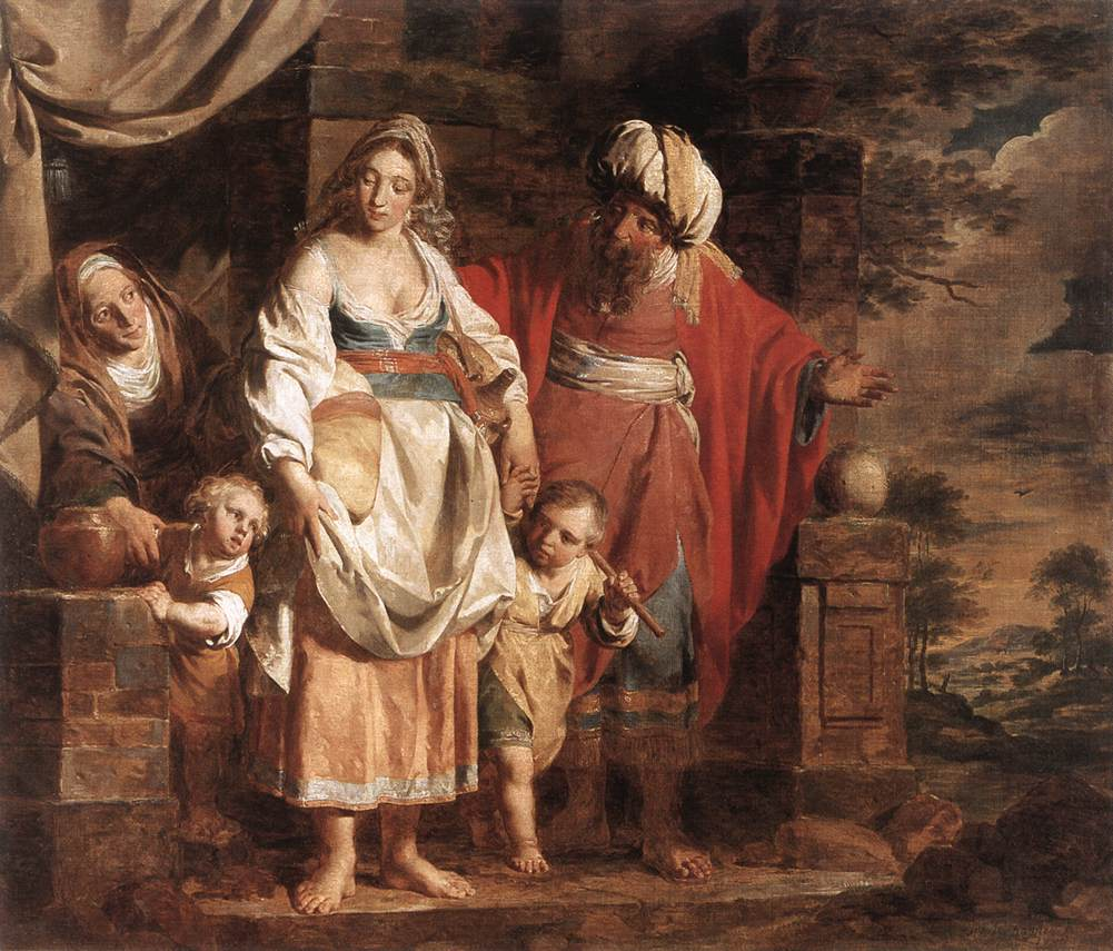 verhaghen_pieter_jozef_hagar_and_ishmael_banished_by_abraham_1781.jpg