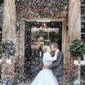 Téli jégvilág az esküvőn