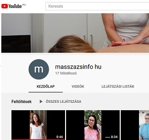 Videocsatorna a youtube-on