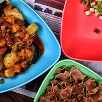 Cukkinis, kukoricás, kolbászos tészta