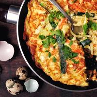Spagetti omlett