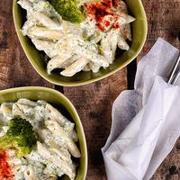 Gorgonzolás, brokkolis tészta