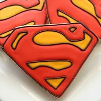 Apák napi superman süti