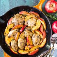 A hónap gyümölcse: alma! 2. rész: almaboros almás csirke