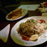 Pad Wunsen Kai – sült üvegtészta csirkével, tojással hagymával és zöldségekkel