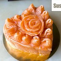 Sushi torta